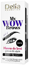 Kup Henna do brwi - Delia My Wow Brows