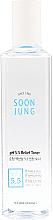 Kup Kojący tonik do twarzy - Etude House Soon Jung PH 5.5 Relief Toner