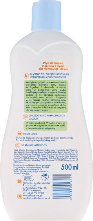 Ultradelikatny płyn do kąpieli dla dzieci od pierwszego dnia życia Marchew i dynia - Dzidziuś Fito — фото N2