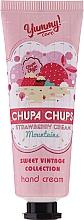 Zestaw - Bi-es Chupa Chups Strawberry Cream (h/cr 50 ml + lip/balm 1 pcs) — фото N2