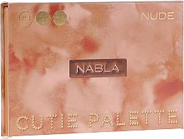 Kup Paletka cieni do powiek - Nabla Cutie Collection Palette Nude