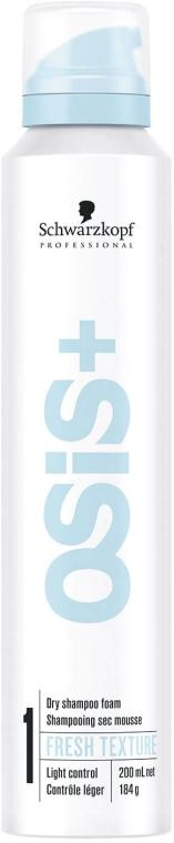 Suchy szampon w piance do włosów - Schwarzkopf Professional OSiS+ Fresh Texture Dry Shampoo Foam — фото N1