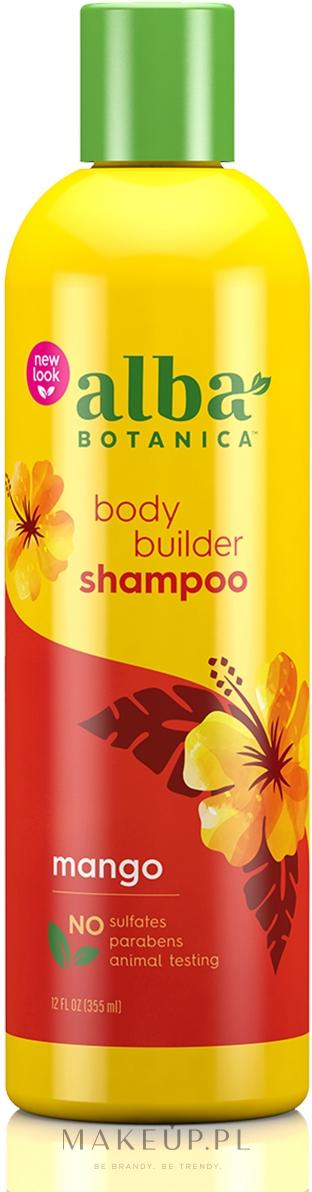 Naturalny hawajski szampon Puszyste mango - Alba Botanica Natural Hawaiian Shampoo Body Builder Mango — фото 355 ml