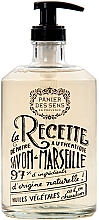 Kup Marsylskie mydło w płynie w szklanej butelce Lawenda - Panier des Sens Liquid Marseille Soap