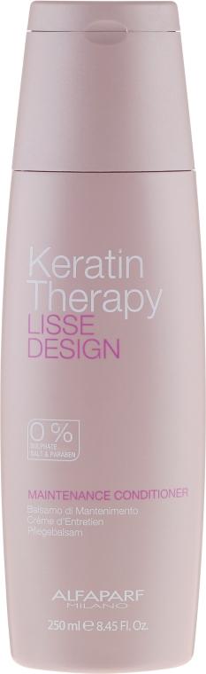 Odżywka do włosów po keratynowym prostowaniu - Alfaparf Lisse Design Keratin Therapy Maintenance Conditioner