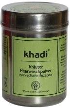 Kup Ajurwedyjski ziołowy proszek do mycia włosów - Khadi Ayurvedic Herbal Hair Wash Powder