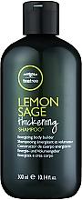 Kup Zagęszczający szampon do włosów Cytryna i szałwia - Paul Mitchell Tea Tree Lemon Sage Thickening Shampoo