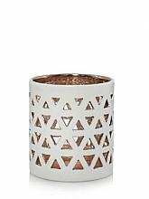 Kup Świecznik do świecy typu votive lub tealight - Yankee Candle Belmont White Ceramic Tea Light Votive