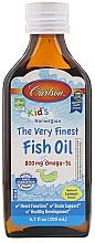 Kup Olej rybny w płynie dla dzieci - Carlson Labs Kid's The Very Finest Fish Oil
