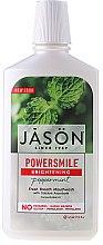 Kup Płyn do płukania jamy ustnej z miętą pieprzową - Jason Natural Cosmetics Power Smile Natural Mouthwash