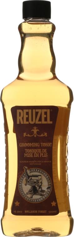 Tonik dla mężczyzn do stylizacji i utrwalania włosów - Reuzel Grooming Tonic — фото N4