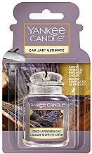 Kup Zapach do samochodu - Yankee Candle Car Jar Ultimate Dried Lavender & Oak