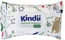 Kup Nawilżane chusteczki dla dzieci i niemowląt - Kindii Natural Balance Cleanic