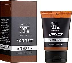 Kup Mocno utrwalający krem do stylizacji włosów dla mężczyzn - American Crew Acumen Firm Hold Grooming Cream