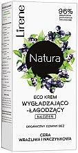 Kup Ekokrem wygładzająco-łagodzący na dzień do cery wrażliwej i naczynkowej Organiczny czarny bez - Lirene Natura Eco Cream