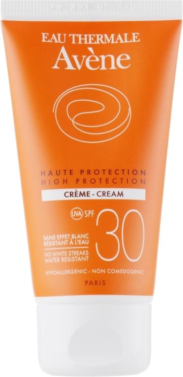 Przeciwsłoneczny krem do twarzy z wysoką ochroną SPF 30 - Avène Sun High Protection Cream — фото N2