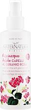 Kup Spray do włosów nadający połysk - MaterNatura Acidic Hair Rinse with Rose Geranium