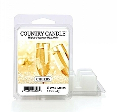 Kup Wosk zapachowy - Country Candle Cheers Cheesecake Wax Melts