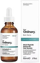 Kup Multipeptydowe serum zagęszczające włosy - The Ordinary Multi Peptide Serum For Hair Density
