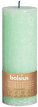 Kup Świeca cylindryczna, zielona, 190x68 mm - Bolsius