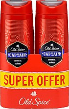Kup Żel pod prysznic i szampon do włosów dla mężczyzn - Old Spice Captain Shower Gel + Shampoo