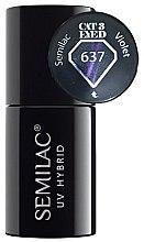 Kup Lakier hybrydowy do paznokci - Semilac UV Hybrid Cat Eye 3D