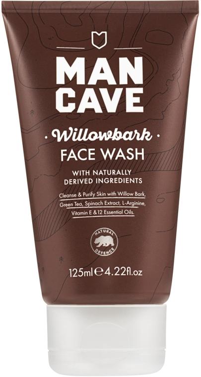Żel do mycia - Man Cave Willow Bark Face Wash — фото N1