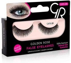Kup Sztuczne rzęsy z klejem - Golden Rose False Eyelashes