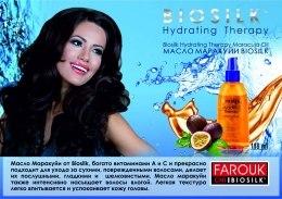 Głęboko nawilżający olejek do włosów - BioSilk Hydrating Therapy Maracuja Oil — фото N7