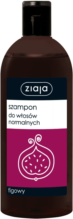 Figowy szampon do włosów normalnych - Ziaja
