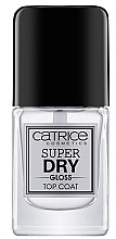 Kup Szybkoschnący top coat nabłyszczający do paznokci - Catrice Super Dry Gloss Top Coat