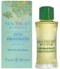 Kup Olejek perfumowany Rabarbar - Frais Monde Spa Fruit Rhubarb Flower Perfumed Oil
