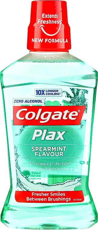 Płyn do płukania jamy ustnej - Colgate Plax Spearmint — фото N1