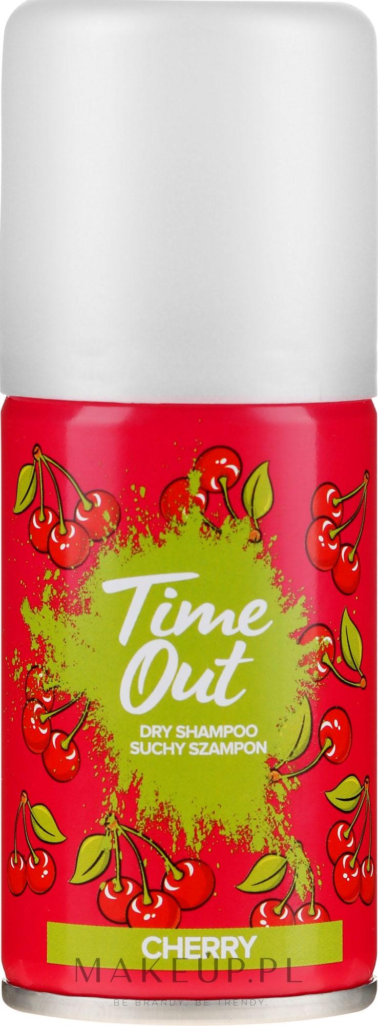 Suchy szampon do włosów Wiśnia - Time Out — фото 75 ml