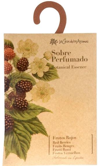 Saszetka zapachowa Jeżyny - La Casa de Los Aromas Botanical Essence Red Berries Scented Sachet — фото N1