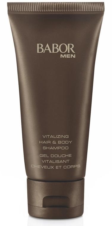 Witalizujący żel-szampon do mycia ciała i włosów dla mężczyzn - Babor Men Vitalizing Hair & Body Shampoo — фото N1