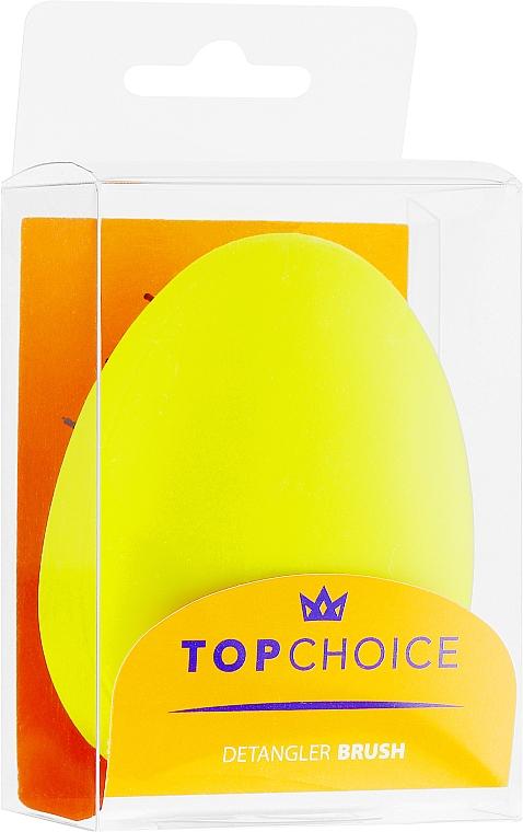 Szczotka do włosów, 63893, limonkowa - Top Choice — фото N2