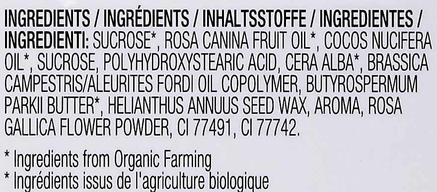 Peeling do ust z organicznym olejem różanym - Physicians Formula Organic Rose Oil Lip Polish — фото N4