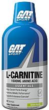 Kup L-karnityna w płynie o smaku zielonego jabłka - GAT Sport L-Carnitine Amino Acid Green Apple