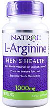 Kup L-arginina, 1000 mg - Natrol L-Arginine