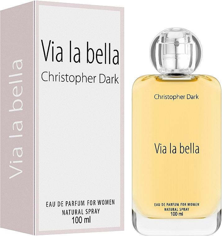 Christopher Dark Via La Bella - Woda perfumowana