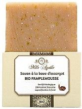 Kup Organiczne mydło ze śluzem ślimaka Grejpfrut - Mlle Agathe