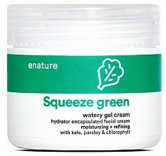 Kup Nawilżający krem-żel do twarzy - E-Nature Squeeze Green Watery Gel Cream Moisturizing + Refining