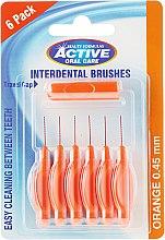 Kup Szczoteczki międzyzębowe, 0,45 mm, pomarańczowe - Beauty Formulas Active Oral Care Interdental Brushes