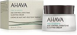 Kup Wygładzający krem na noc korygujący ton skóry - Ahava Age Control Even Tone Sleeping Cream