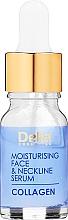 Kup Przeciwzmarszczkowe serum nawilżające do twarzy i szyi - Delia Collagen