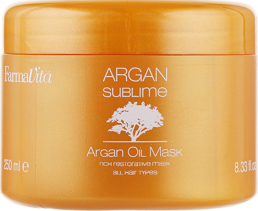 Maska z olejem arganowym - Farmavita Argan Sublime Mask — фото N2