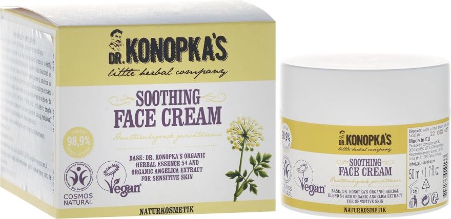 Wygładzający krem do twarzy - Dr. Konopka's Soothing Face Cream