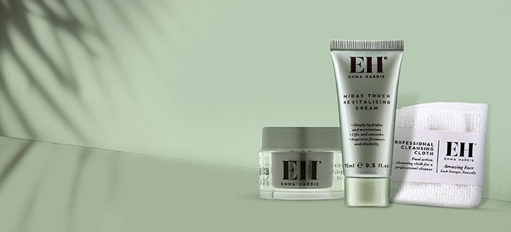 Odbierz w prezencie produkt do pielęgnacji twarzy, przy zakupie dowolnego produktu Emma Hardie.