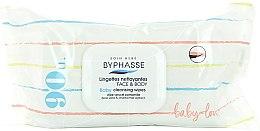 Kup Chusteczki nawilżone dla dzieci z aloesem i rumiankiem, 90 szt. - Byphasse Baby Cleansing Wipes Face and Body